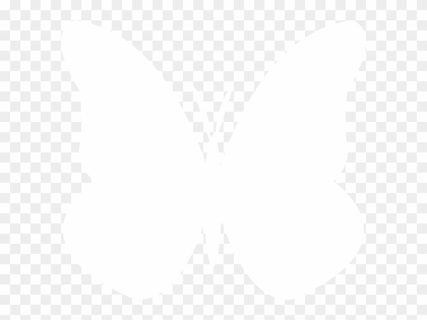 White Butterfly Clip Art - Swallowtail Butterfly #76463