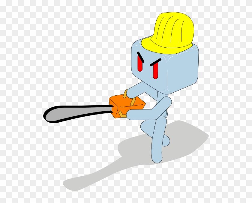 Free Vector Cartoon Icecube Baseball Player Clip Art - Ice Cube Clip Art #76720