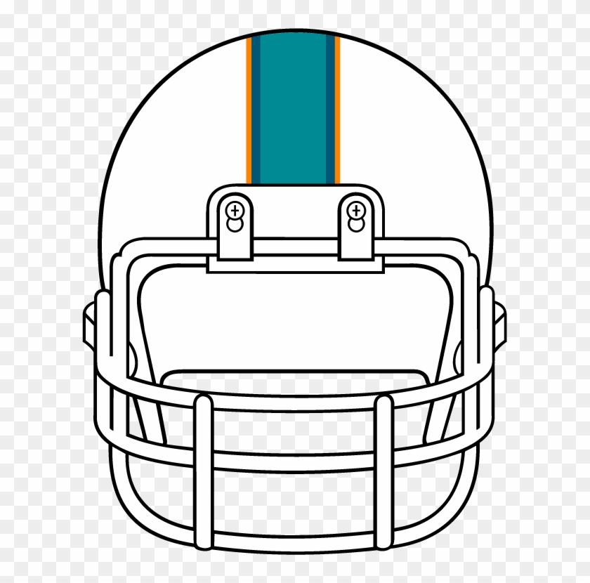 Front Clipart Football Helmet Clip Art Front - Football Helmet Front Clipart #76758