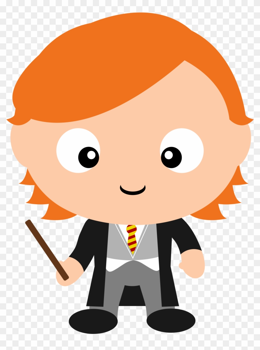 Check Out All The Other Harry Potter Character Clipart - Ron