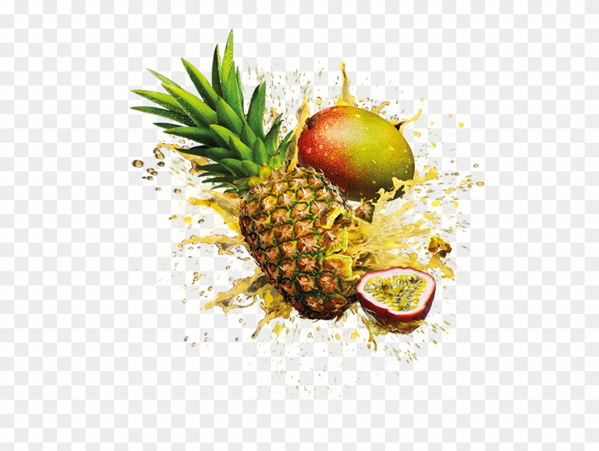 Orange Juice Muffin Pineapple Fruit - Pineapple Mango Passion Fruit #421070