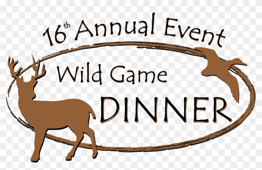 Graphic Wild Game Dinner Tickets 260kb - Wild Game Dinner Clip Art #421152