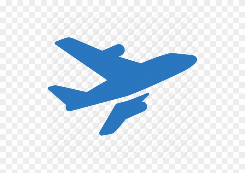 Aircraft Symbol 3 Icons Plane Blue Icon Png Free Transparent