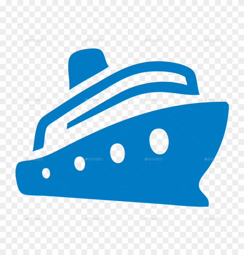Boat, Cruise, Ferry, Ferryboat, Liner, Nautical, Sea, - Cruise Ship Icon Png #421245