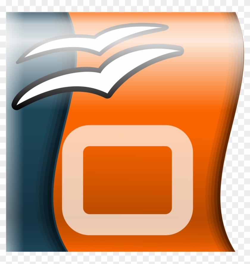 Open - Open Office Impress Logo #421261