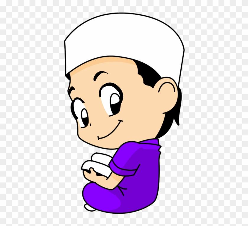 Islam Clipart - Cute Muslim Boy Cartoon #421267