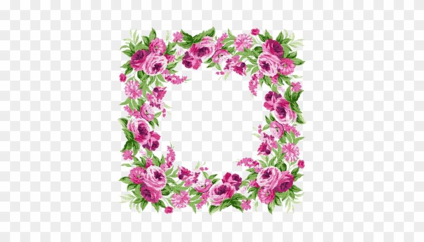 Pink Flower Frame - God Bless Your Sunday #421637