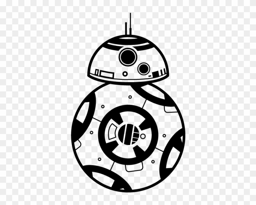 bb8 vector - bb8 black and white - free transparent png clipart images  download  clipartmax