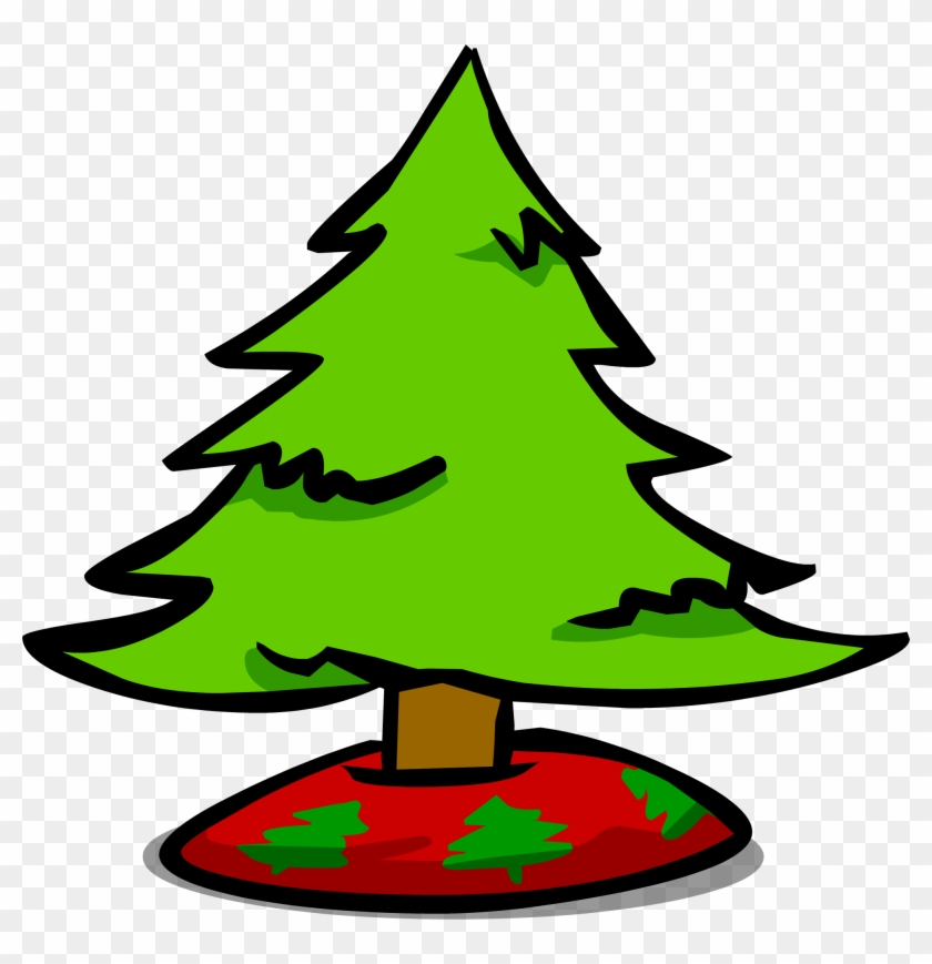 Small Christmas Tree Sprite 004 - Club Penguin #422083