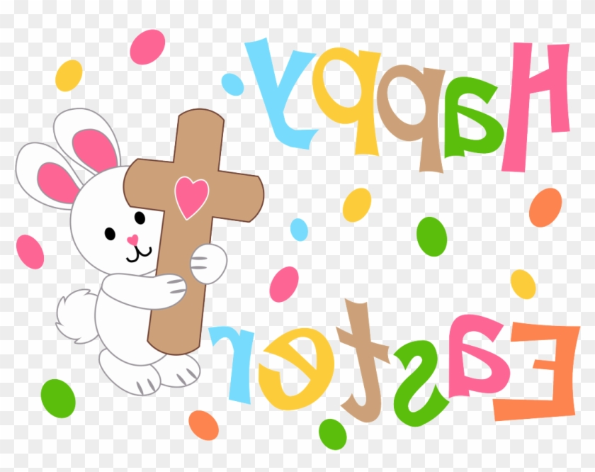 Happy Easter Image With Cross Happy Easter Bunny Crosspng - Happy Easter Image With Cross Happy Easter Bunny Crosspng #422397