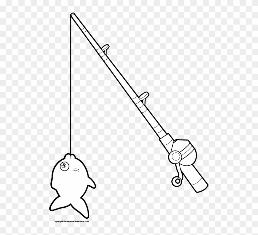 Fishing Rod Clipart Simple Draw A Fishing Rod Free Transparent Png Clipart Images Download