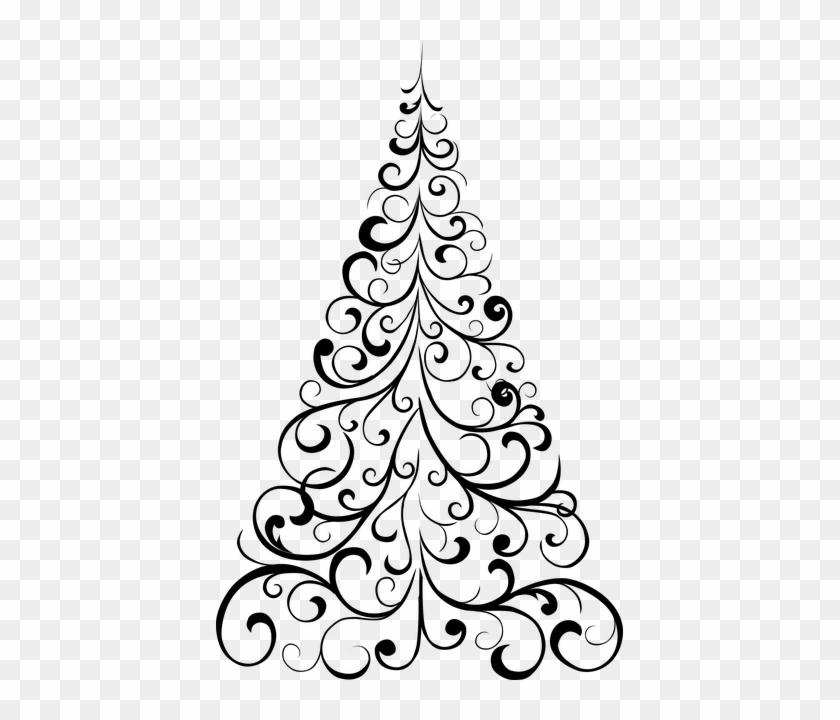 Ornament, Spiral, Tree - Xmas Tree