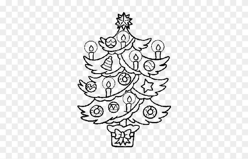 Dibujos De Arboles De Navidad Free Transparent Png Clipart Images