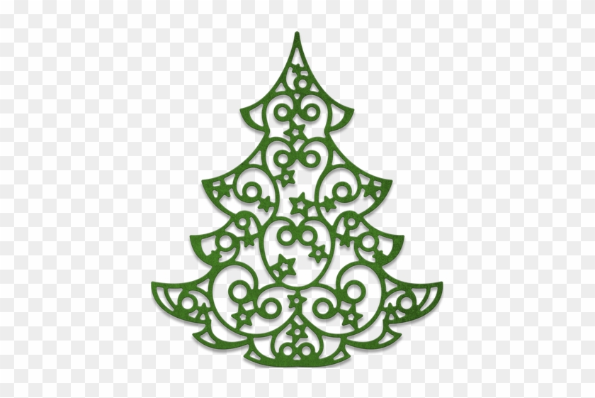 Cheery Lynn Designs Christmas Tree Die Cut Out