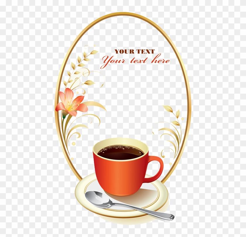 Coffee Latte Espresso Cafe European Cuisine - Cup Photo Frame #423473