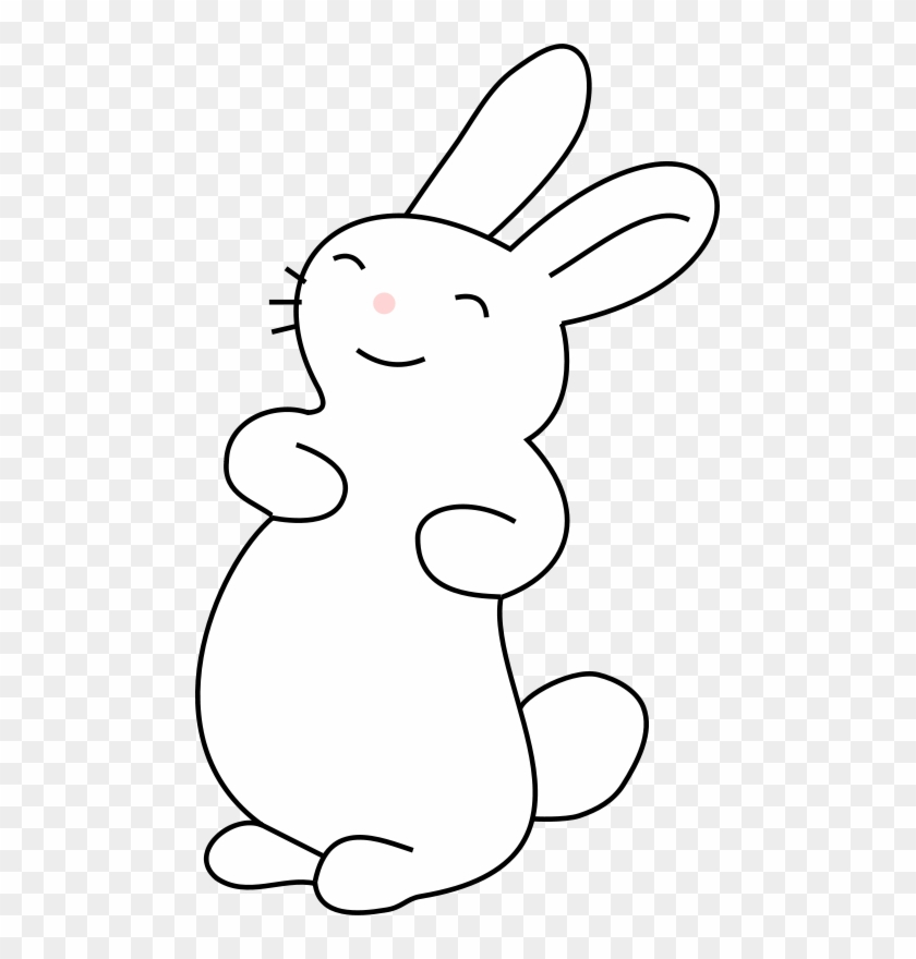 Get Notified Of Exclusive Freebies - White Bunny Clip Art #424121