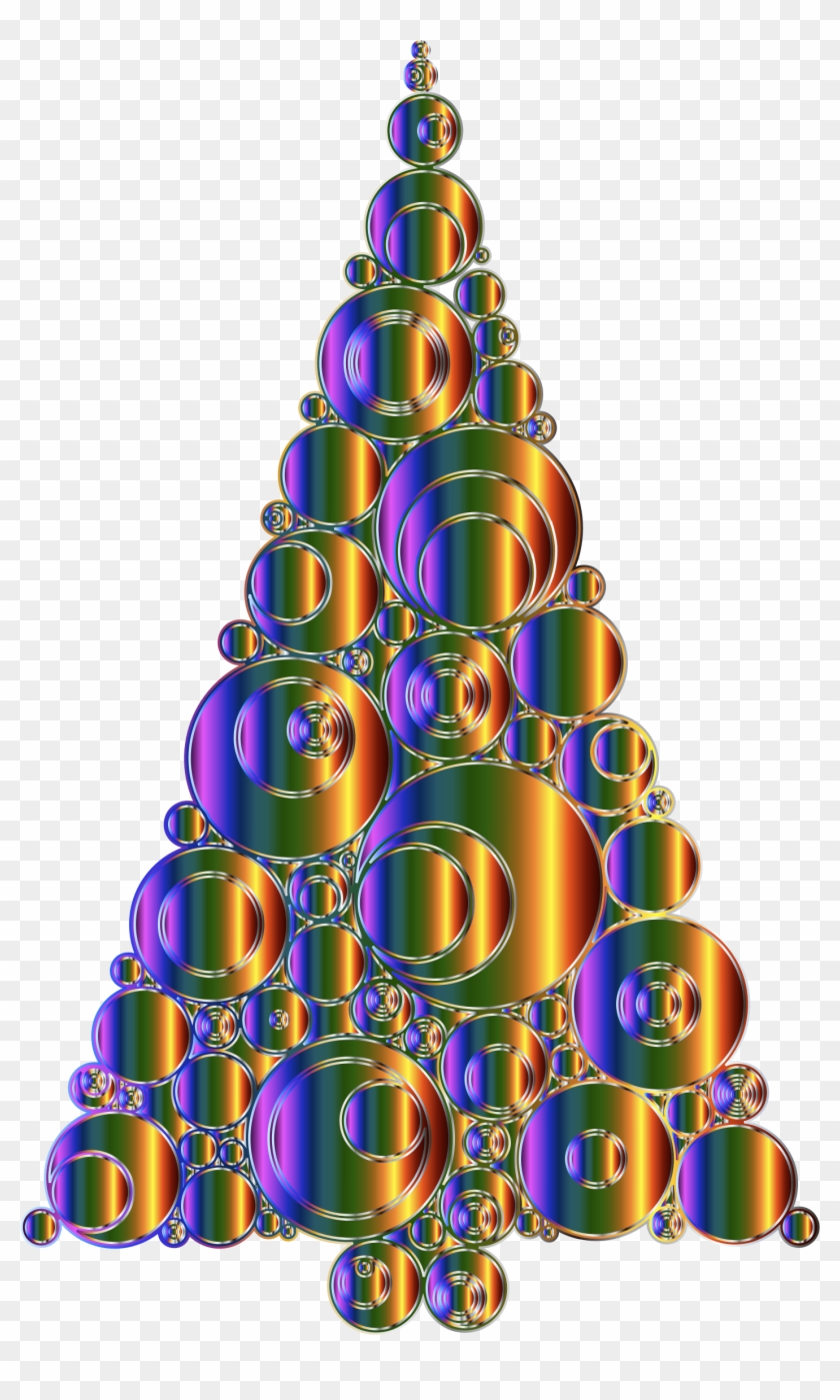 Medium Image - Christmas Abstract Tree Png No Background - Free ...