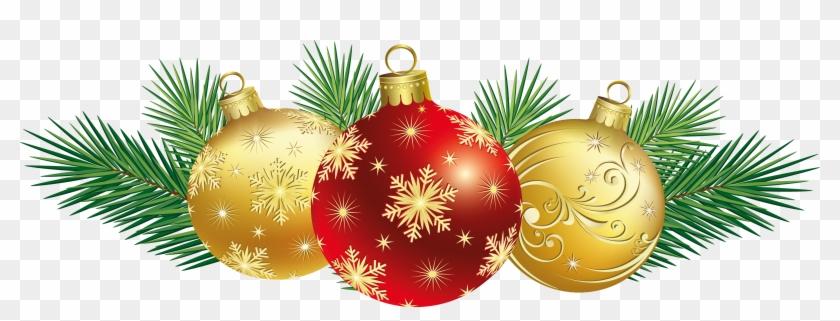 Amd Clipart Christmas Decoration - Christmas Decorations Clip Art #424525