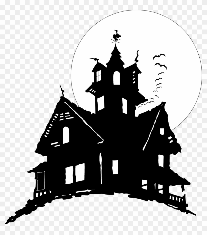 Haunted House Clipart Clear Background - Haunted House No Background - Free  Transparent PNG Clipart Images Download