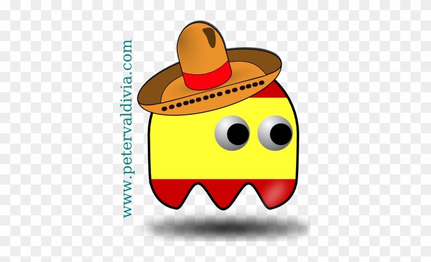 Spanish Pac Man - Sombrero Cinco De Mayo Yard Sign #424623