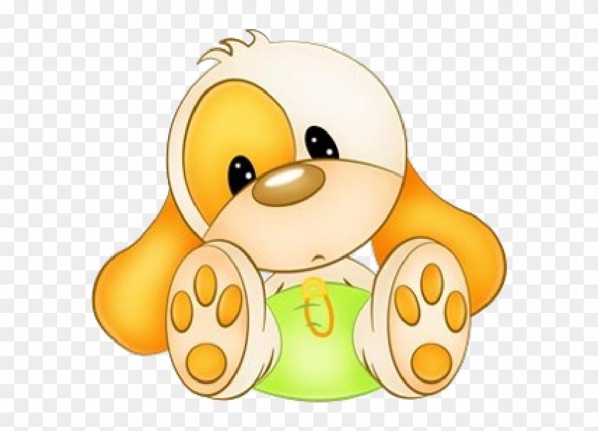 Pictures Of Cute Cartoon Puppies - Dibujos De Animales Tiernos Para Bebes #425119