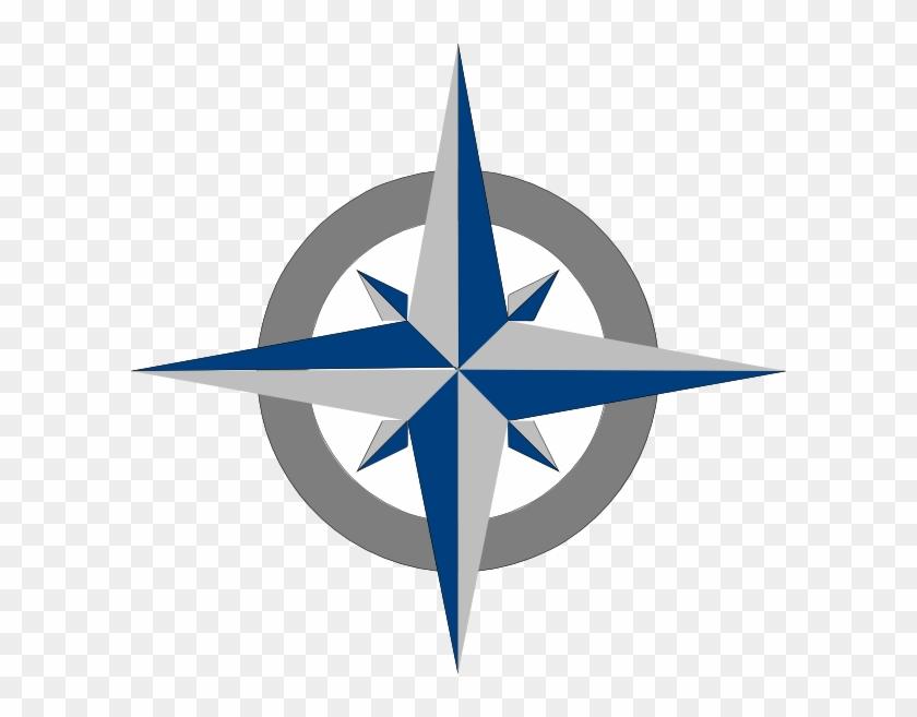 Compass Rose Clip Art #425155