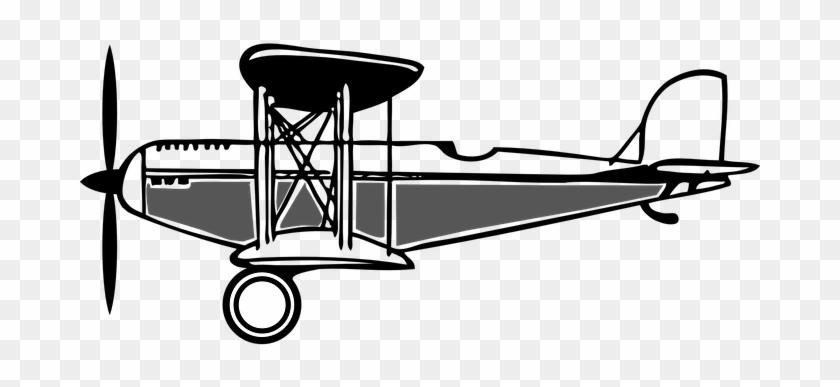doppeldecker, alte, propeller, flugzeug - biplane clipart - free  transparent png clipart images download  clipartmax