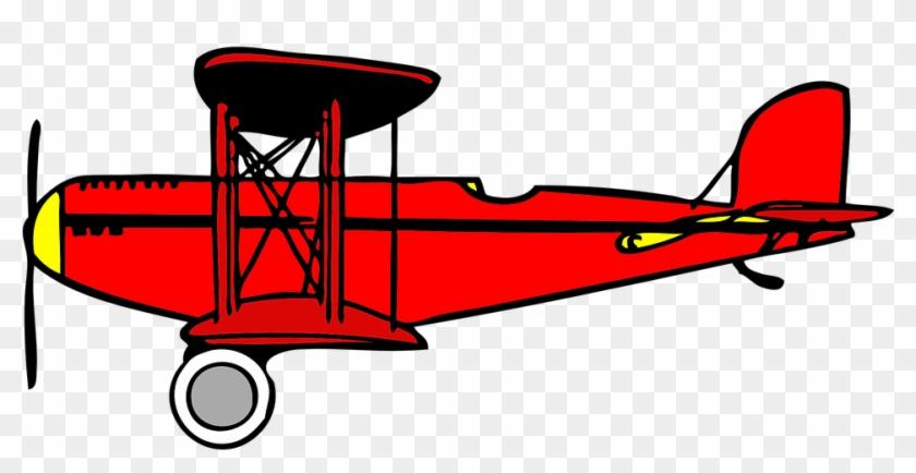 doppeldecker, rot, flügel, luftfahrt - biplane clipart - free transparent  png clipart images download  clipartmax