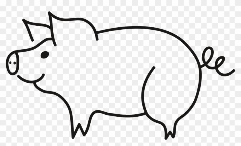 Schwein Clipart Schwarz Weiß Schwein Clipart Schwarz Weiß Free