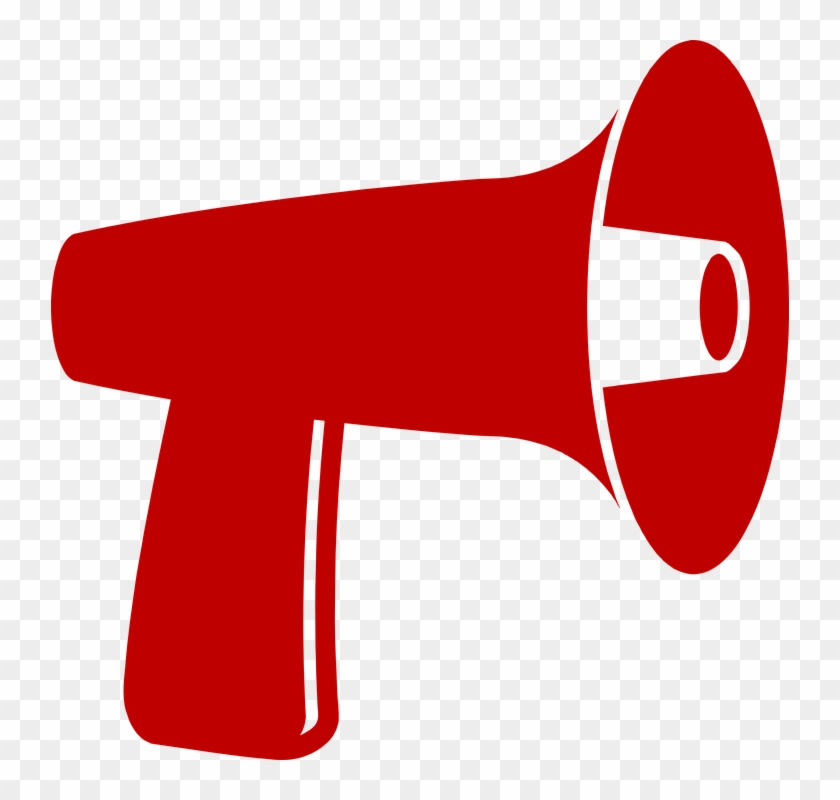 Knows1 - Red Megaphone Clipart #425800