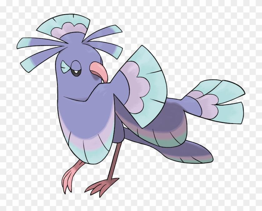 Choreogel, Die Im Buyo-stil Tanzen, Sind Ruhig Und - Alola Flying Type Pokemon #426077