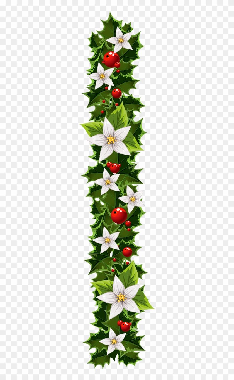Transparent Christmas Garland Clipart Christmas Garland Clipart