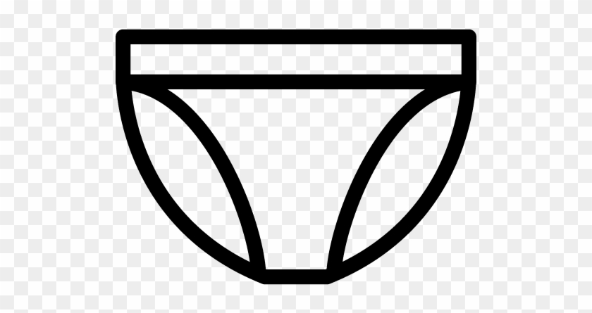 Underwear Cartoon Black And White Free Transparent Png Clipart Images Download