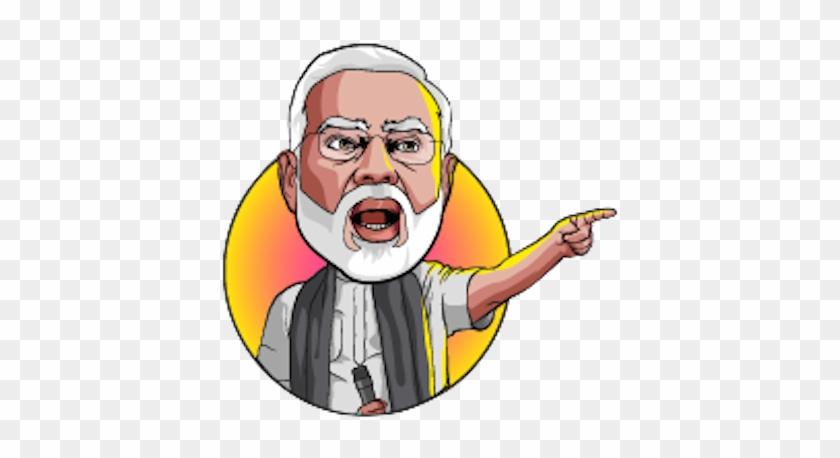 Narendra Modi Clipart - Narendra Modi Cartoon Png #426195