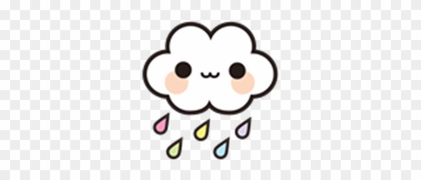 Clouds Clipart Kawaii Kawaii Cloud Free Transparent Png Clipart