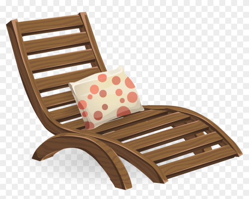 Big Image - Deck Chair Clipart #426482