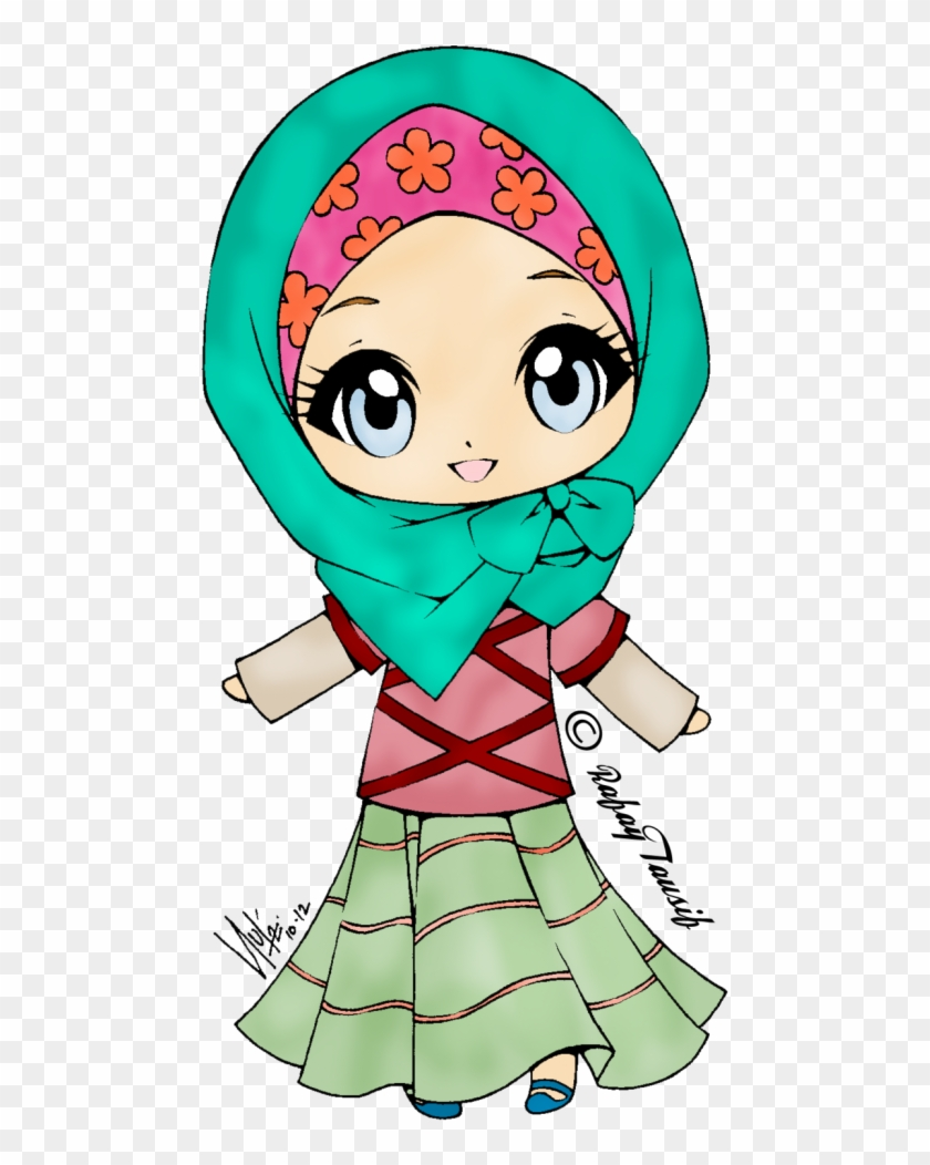 Cute Muslimah - Muslim Girl Clipart Cute #426672