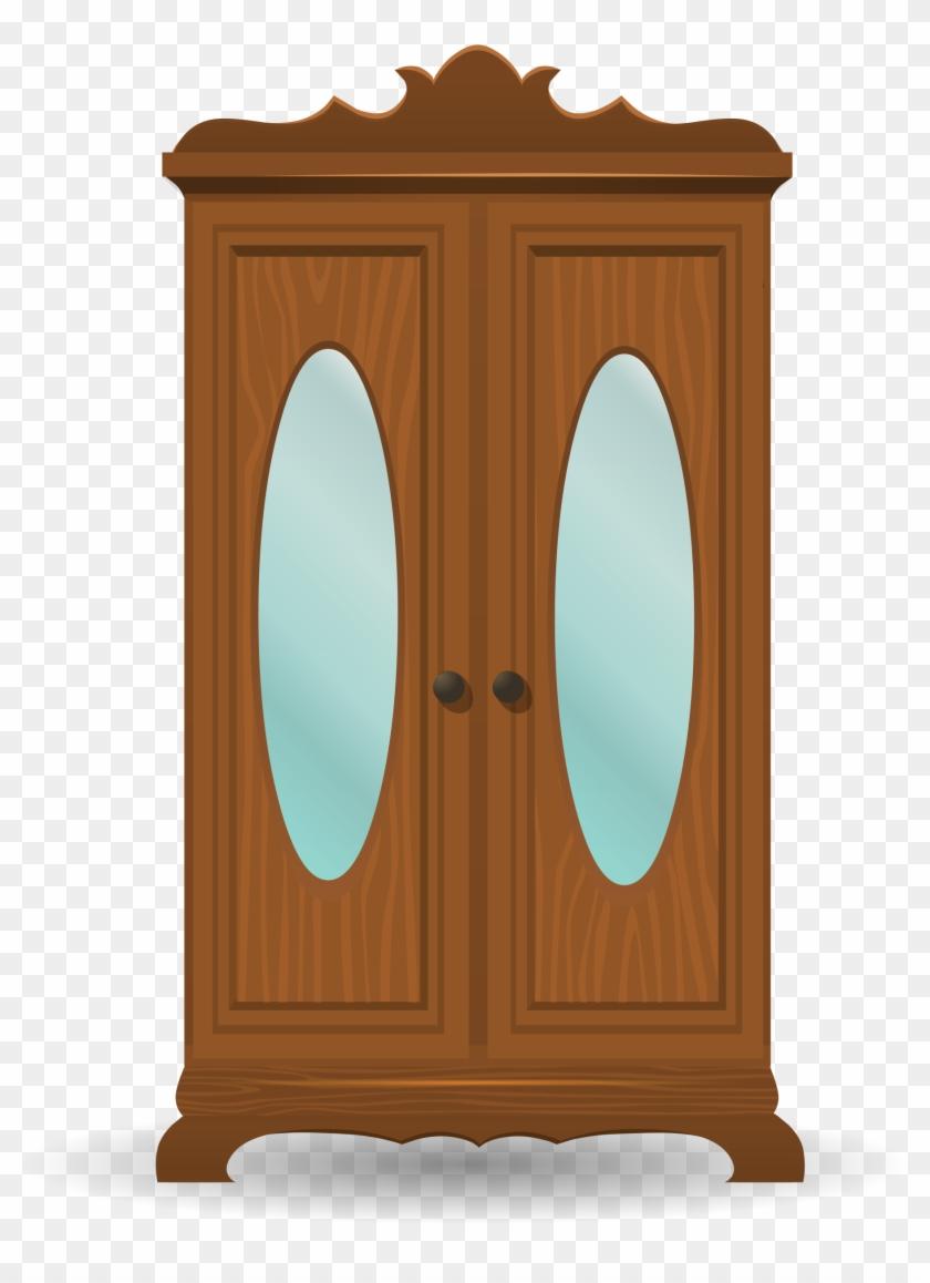 Wardrobe Clipart - Cabinet Clipart #426912