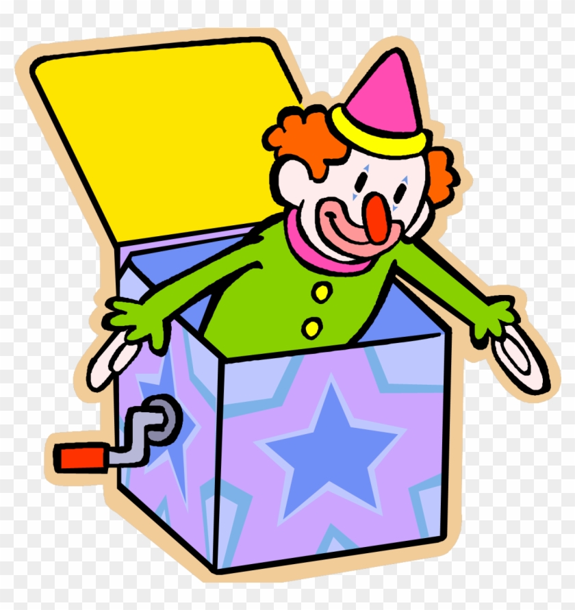 Jack In The Box - Jack In The Box Toy Clip Art #427223