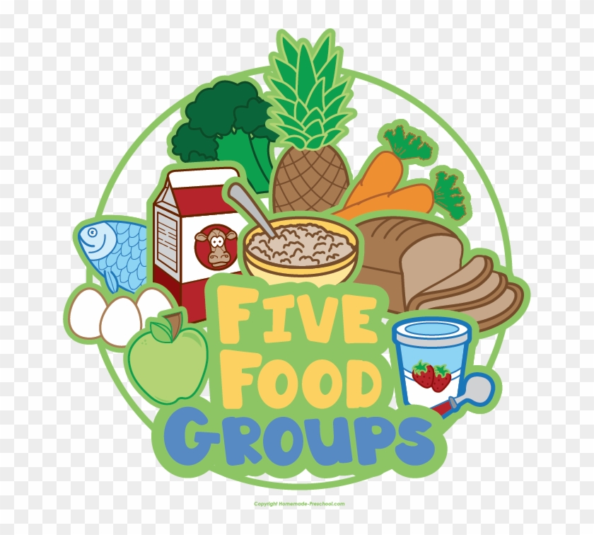 Click To Save Image - Five Food Groups Png #427294