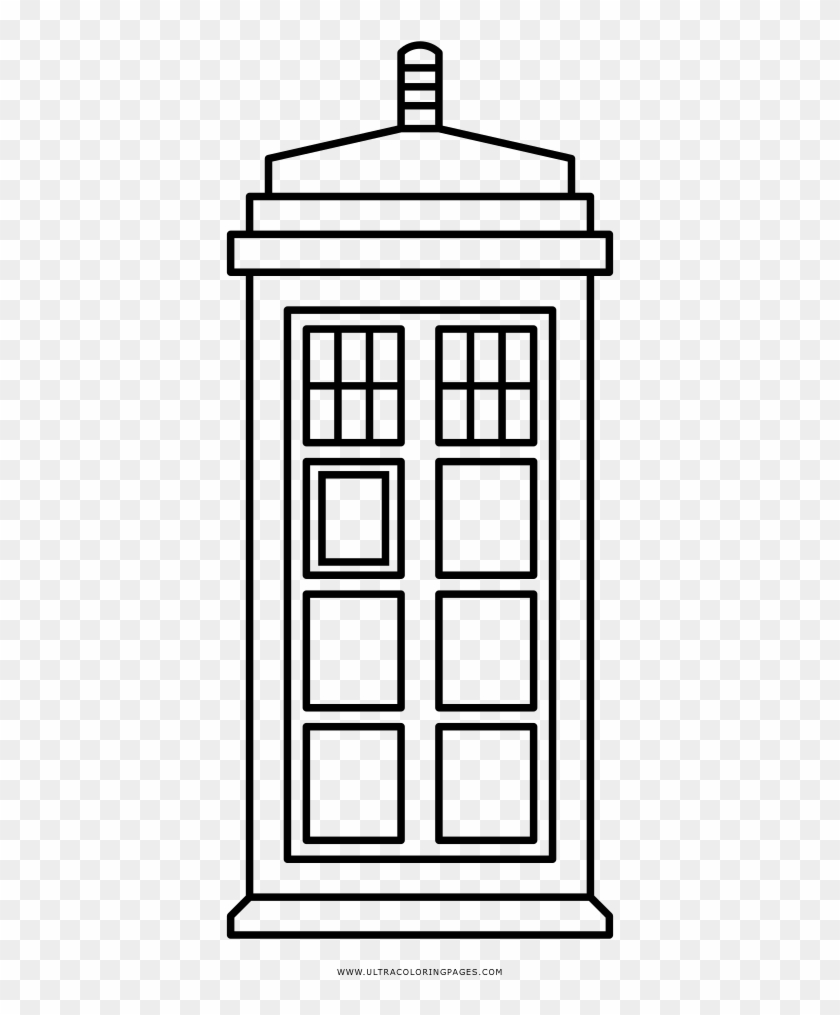 Tardis Coloring Page Doctor Who Coloring Pages Free Transparent Png Clipart Images Download