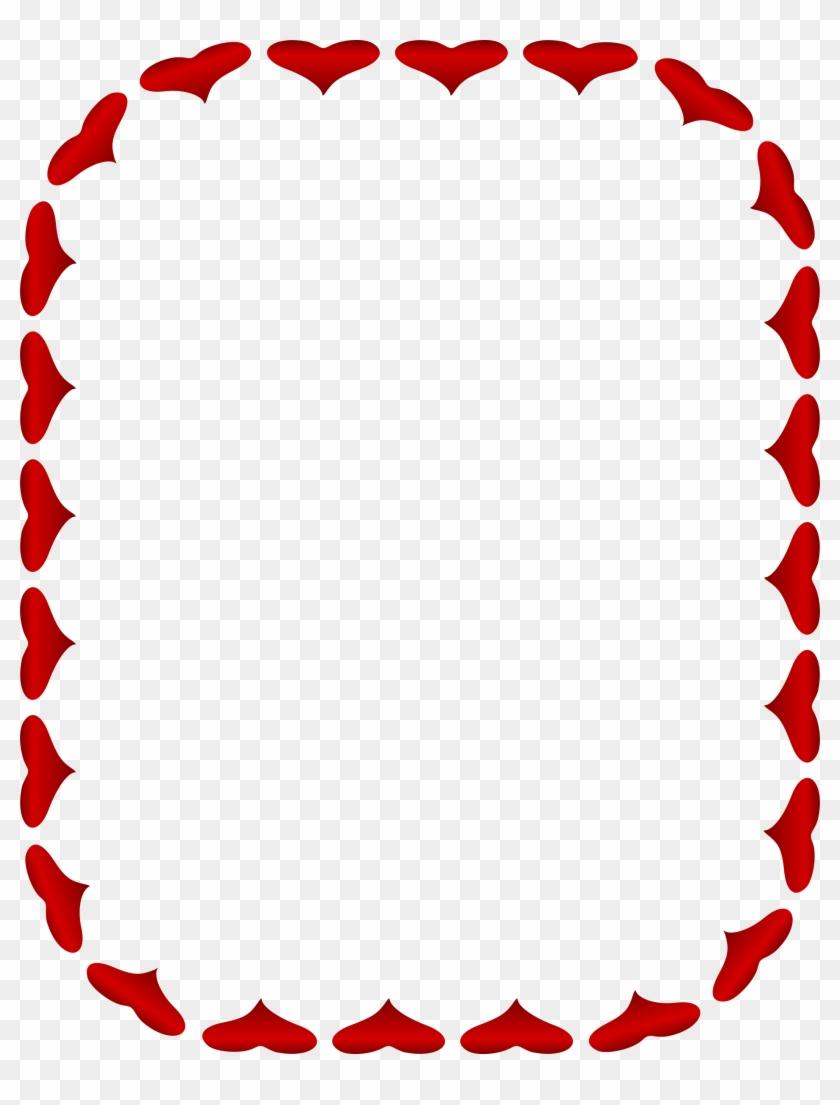 Heart Valentine\'s Day Picture Frames Clip Art - Heart Valentine\'s ...