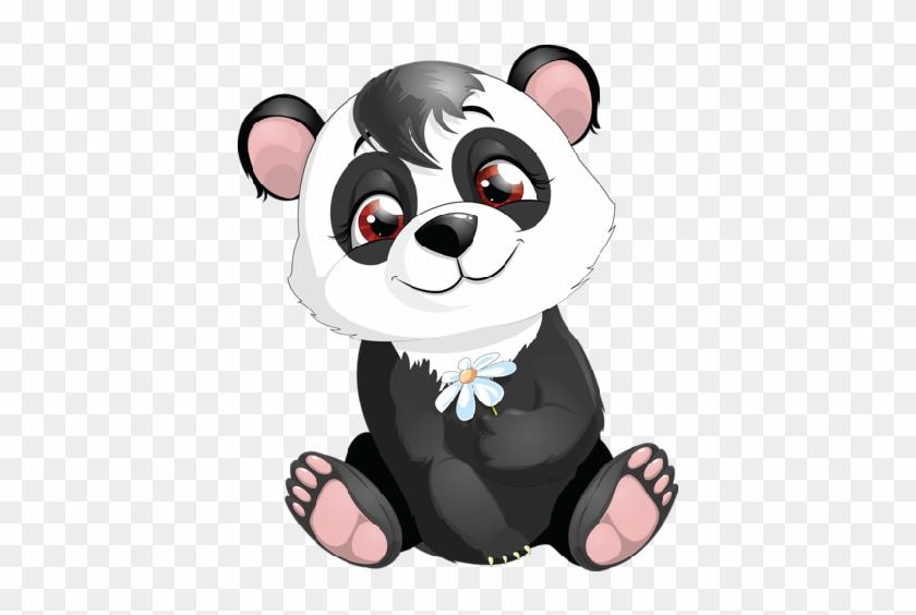 Cute Cartoon Panda Wallpaper Cute Panda Bear Cartoon Free Transparent Png Clipart Images Download