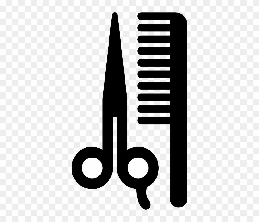 Sign Scissors Symbol Information Hair Beauty Barber Shop