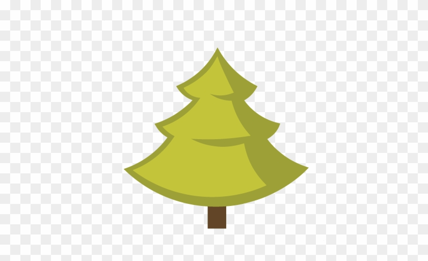 Pine Tree Svg Cut File For Scrapbooking Cute Cut Files - Christmas Tree Clip Art #429616