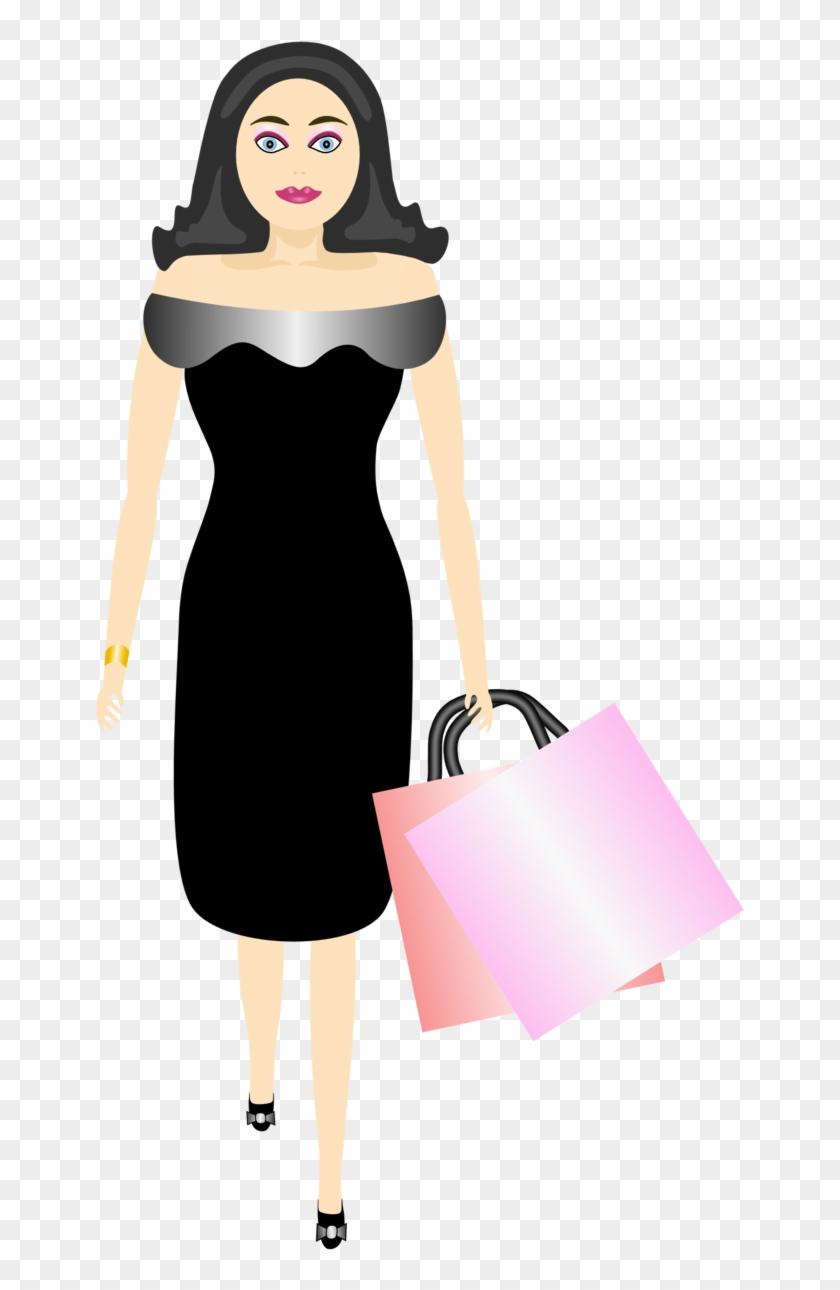 Glamour Girl Shopping - Bag #429871