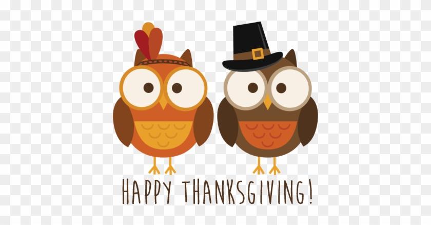 Owl Fall Clip Art - Happy Thanksgiving Day T-shirt T Shirt #430582