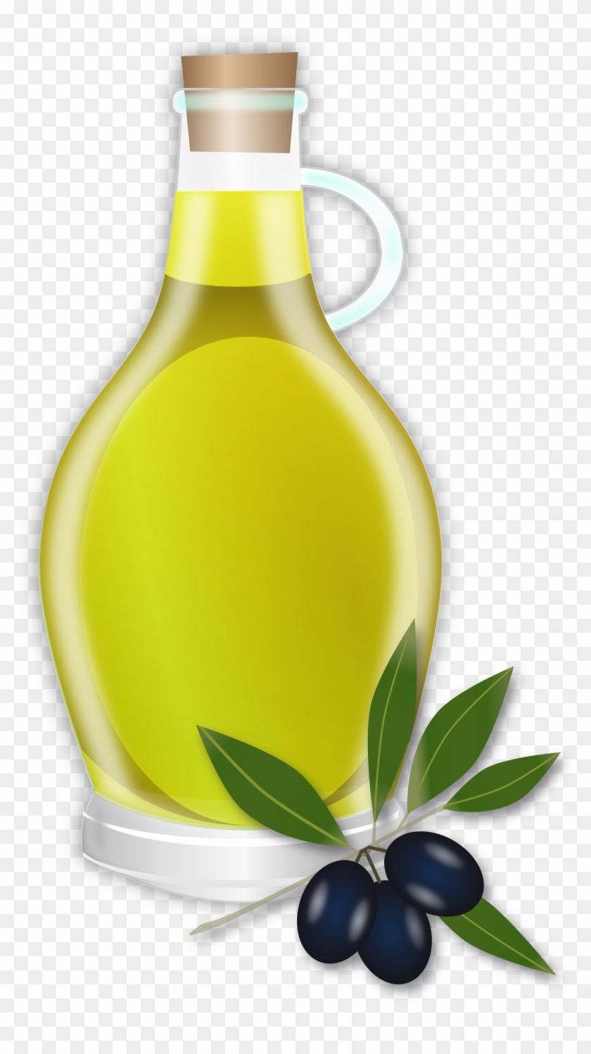 Wine Clipart Oil Pencil And In Color Wine Clipart Oil - Olive Oil Clipart #430850