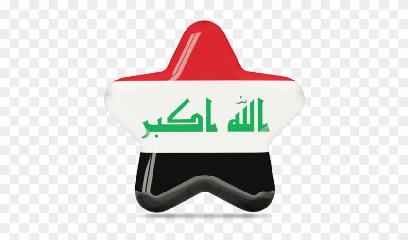 Illustration Of Flag Of Iraq - Diplomat-flags Table-flag / Desk-flag: Iraq 15x25cm #430871