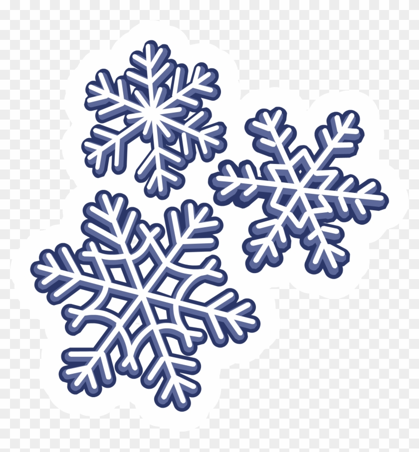Falling Snowflakes Clipart Download - Club Penguin Snow Png #430879